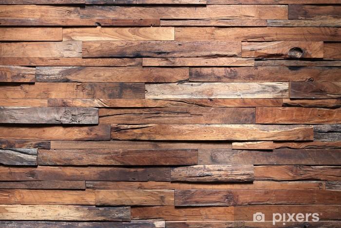 Papier peint vinyle Bois de charpente texture du mur de fond - Thèmes