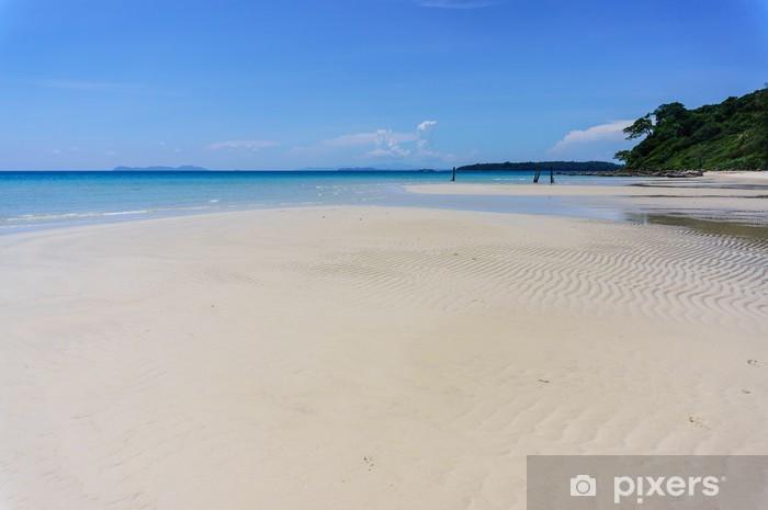 Vinyl-Fototapete Sandstrand von Koh Kood, Thailand Meer - Asien