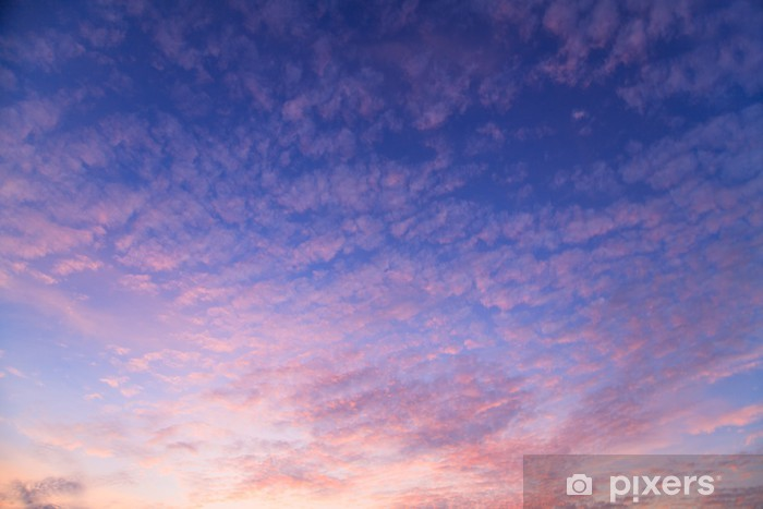Papier peint vinyle Beaux nuages - Thèmes