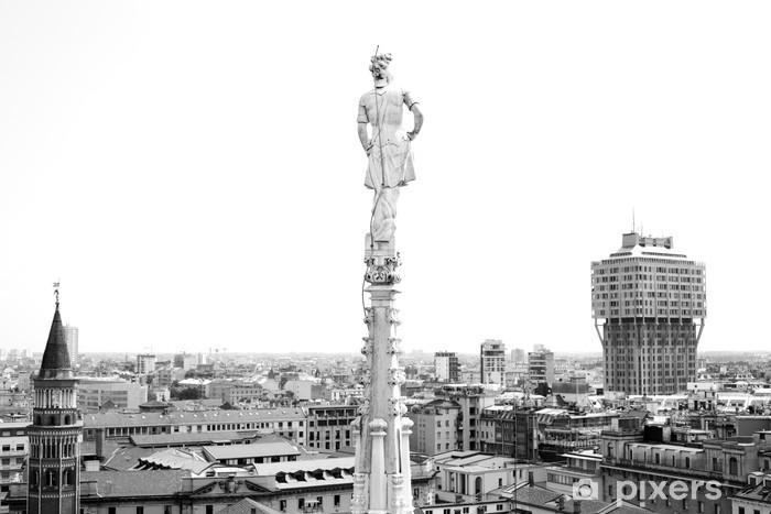 Fototapeta winylowa Katedra w Mediolanie - Europa