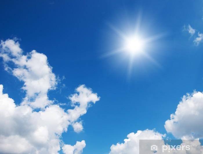 Fotomural Cielo Azul Y El Sol Pixers 174 Vivimos Para