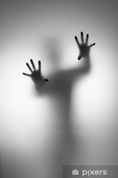 Ghosts Hand Pixerstick Sticker - Men