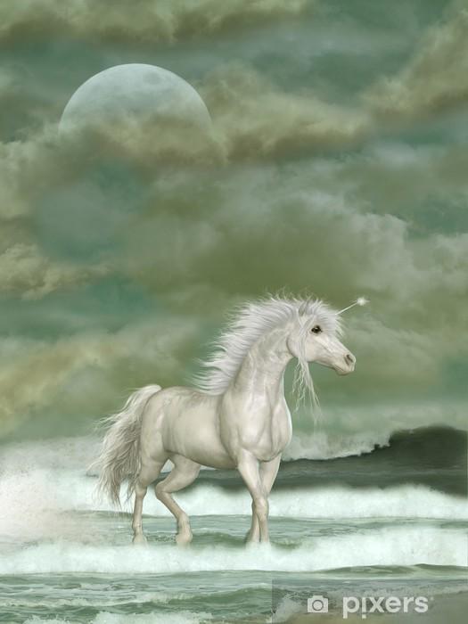 Unicorn Lack bord klistermærke -