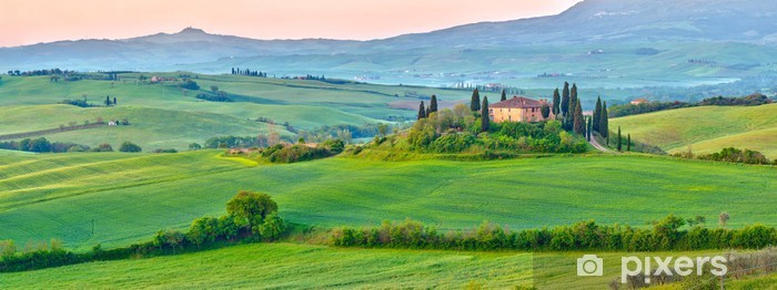 Tuscany at spring Pixerstick Sticker - Themes