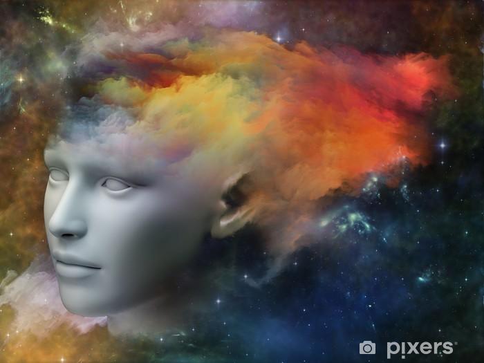 Vinyl Fotobehang Stroom van bewustzijn - Andere Gevoelens