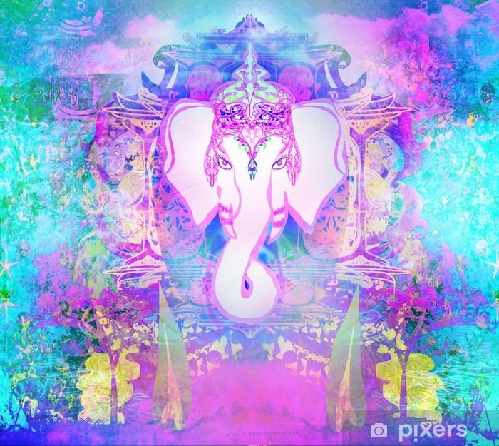 Diwali Ganesha Design Poster - Religion