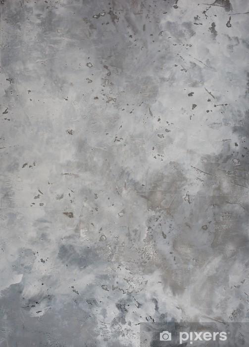 Naklejka Pixerstick Wysokiej rozdzielczości tekstury grunge szorstki szary mur beton, - iStaging