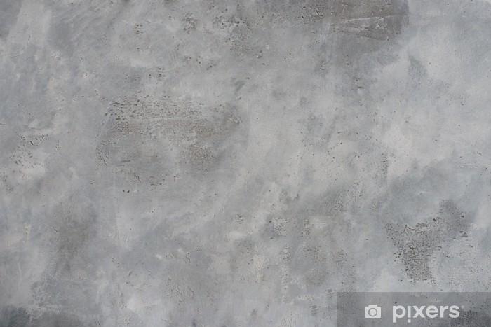 Sticker Pixerstick Rugueux mur gris texturé grunge de béton, haute résolution - Thèmes