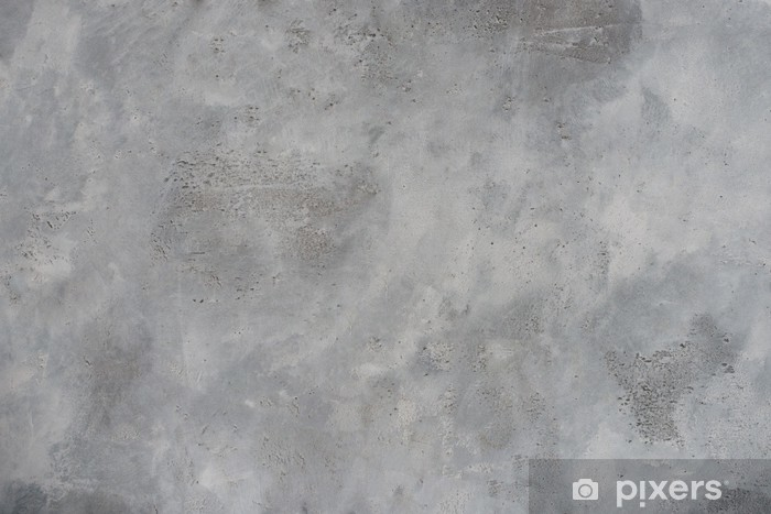 High resolution rough gray textured grunge concrete wall, Vinyl Wall Mural - Themes