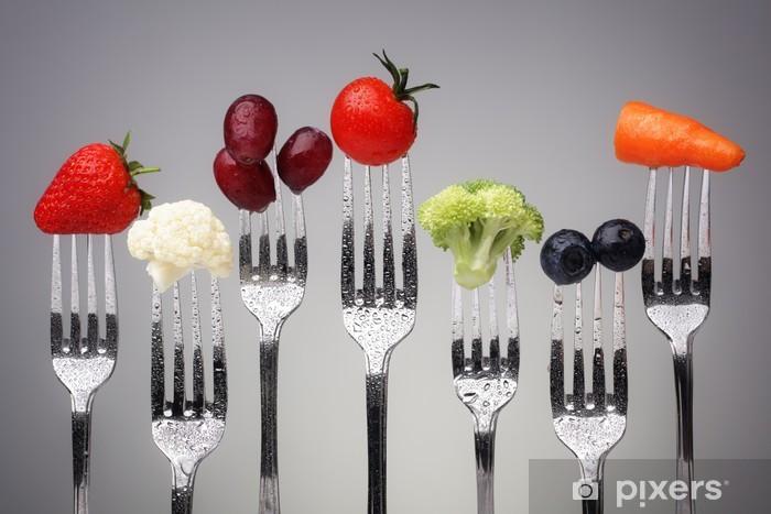 Vinilo Pixerstick Healthy eating - Temas