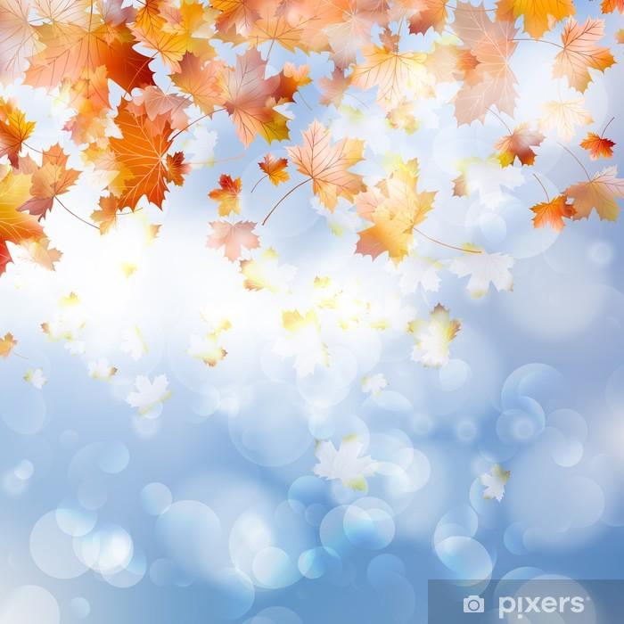 Naklejka Pixerstick Jesienią abstrakcyjne tło. eps 10 - Wolność
