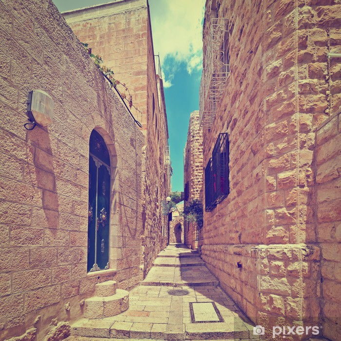Pixerstick Dekor Jerusalem - Privata byggnader