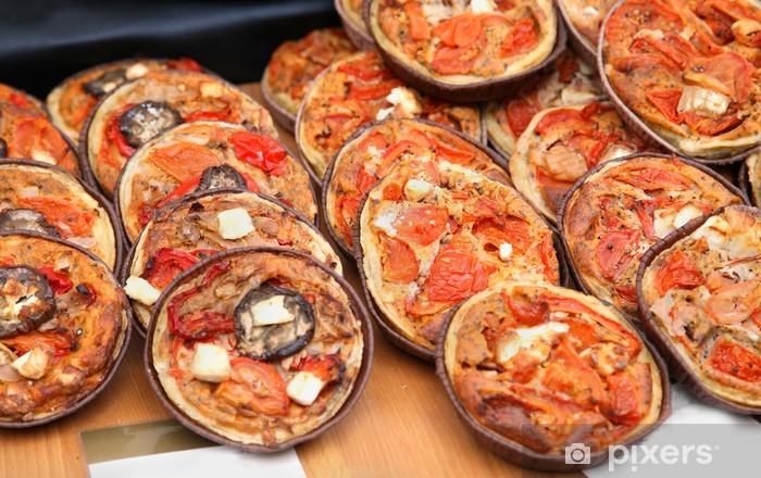 Naklejka Pixerstick Mini pizze - Przeznaczenia