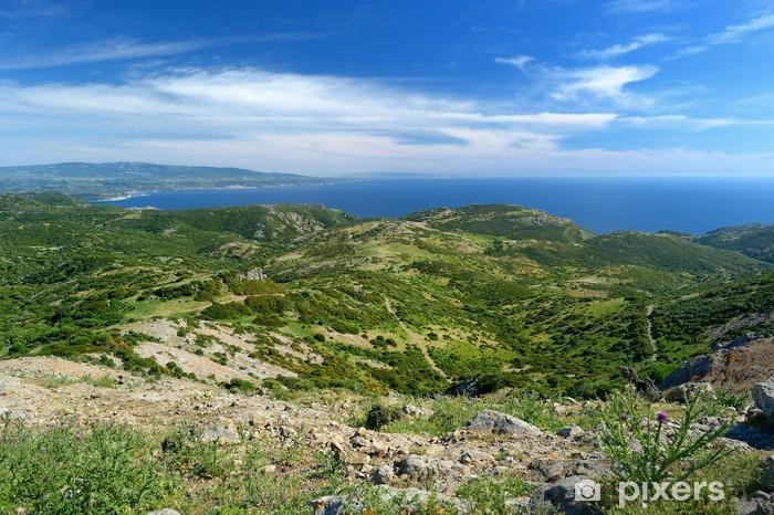Fototapeta winylowa Krajobraz wybrzeża Sardynii - Europa