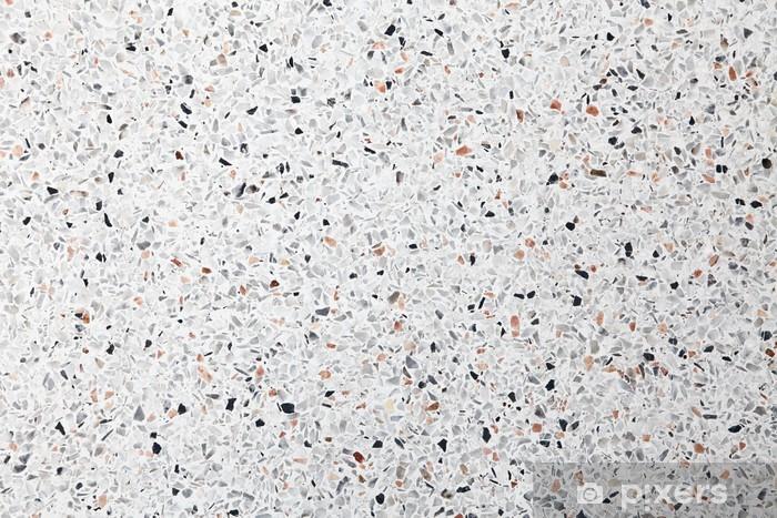 Fototapeta winylowa Białe tło lastryko podłogi - Tła