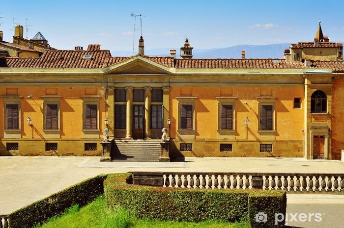 Fototapeta winylowa Widok z tyłu z Palazzo Pitti we Florencji, Włochy - Europa