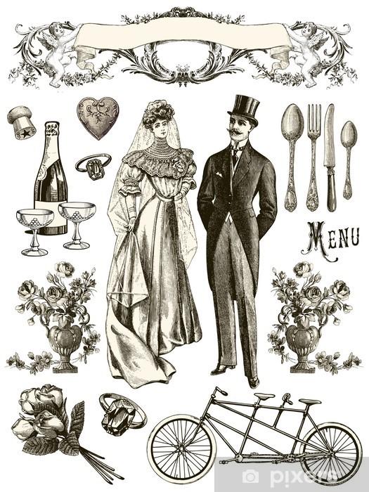 Papier peint vinyle Collection mariage - Célébrations