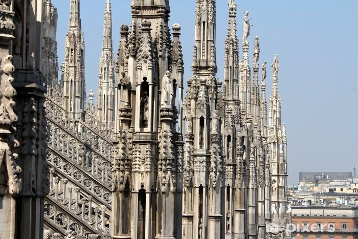 Papier peint vinyle Cathédrale de Milan, le Duomo di Milano, Italie - Thèmes