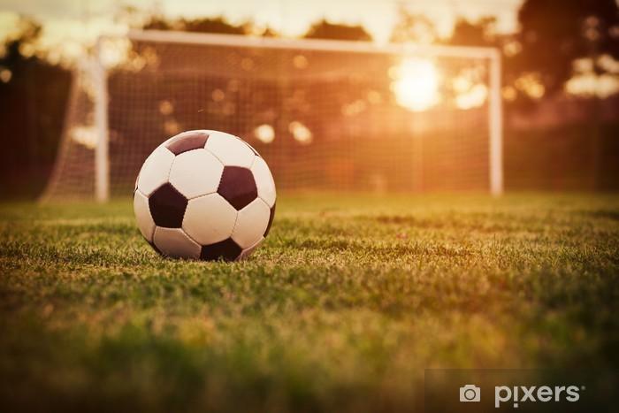 Fototapeta winylowa Soccer sunset - Tematy