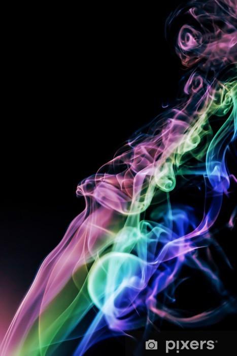 Naklejka Pixerstick Dym streszczenie tle - Tekstury