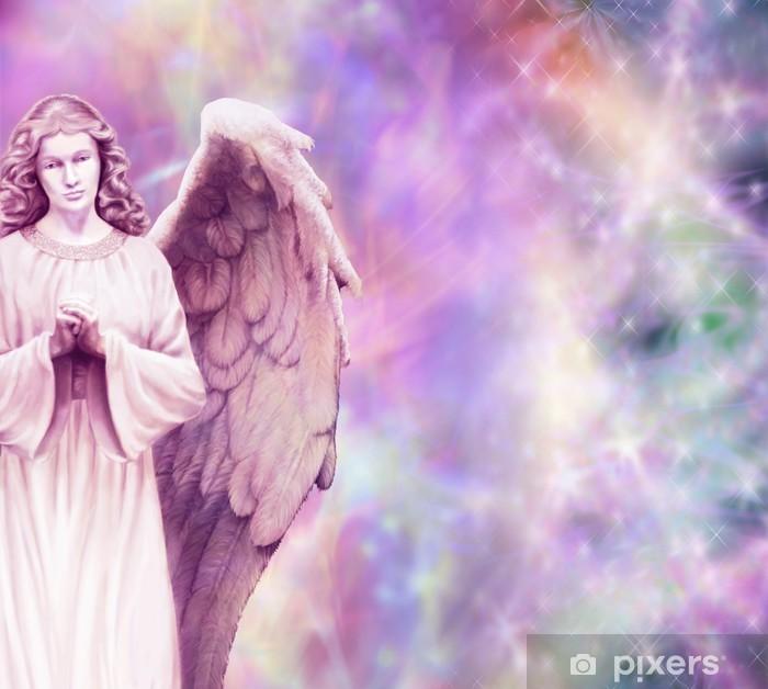 Papier peint vinyle Ange prière - Thèmes