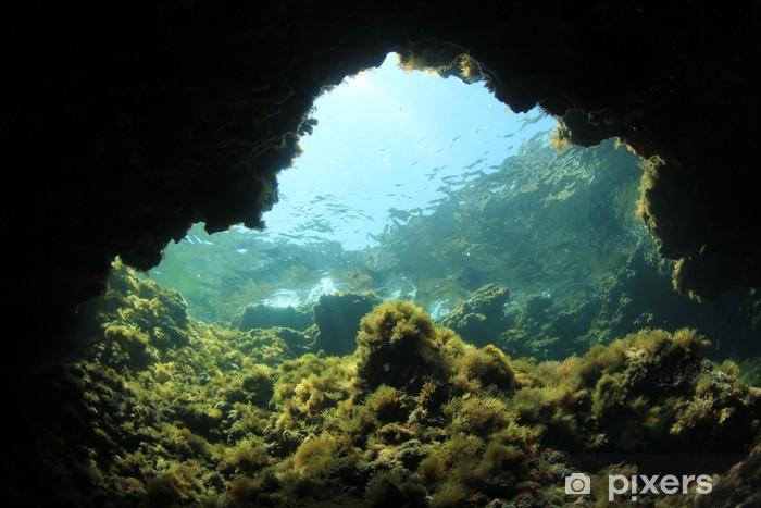 Pixerstick Dekor Underwater Cave - Under vattnet