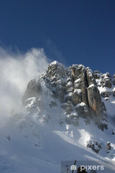 sommet des alpes Pixerstick Sticker - Europe