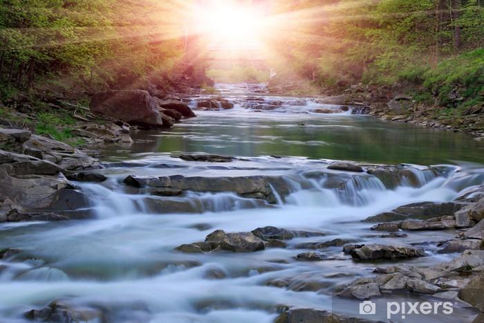 Fototapeta winylowa Rzeka Montain - Tematy
