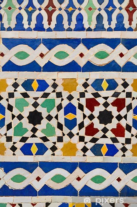 Onwijs Fotobehang Marokkaanse mozaïek • Pixers® - We leven om te veranderen LV-31