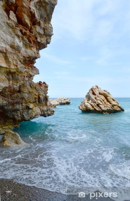 Naklejka Pixerstick Morska plaża - Woda