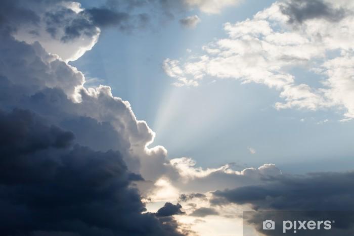 Naklejka Pixerstick Pochmurne niebo - iStaging