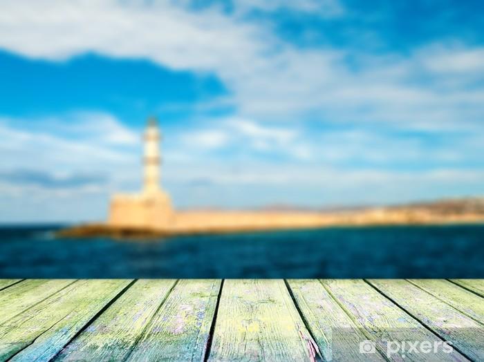 Fotomural Estándar Idílico paisaje marino - Conceptos de negocios