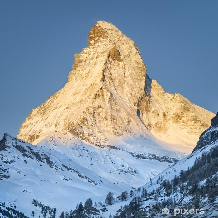 Plakat Góra Matterhorn - Natura i dzicz