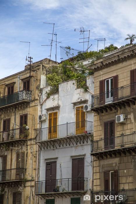 Carta Da Parati A Palermo.Carta Da Parati In Vinile Case Palermo