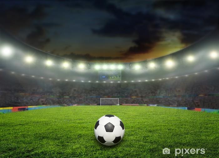 Sticker Pixerstick Stade - Sports collectifs