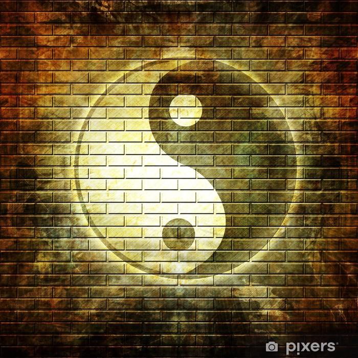 Plakát Grunge zeď - Criteo
