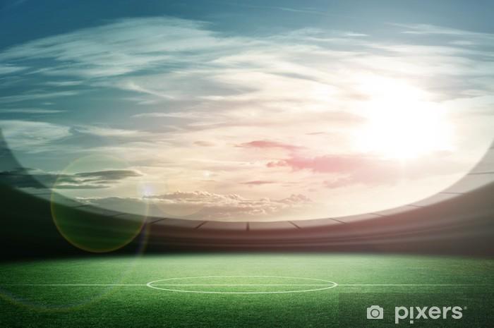 Papier peint vinyle Stade - Football Américain