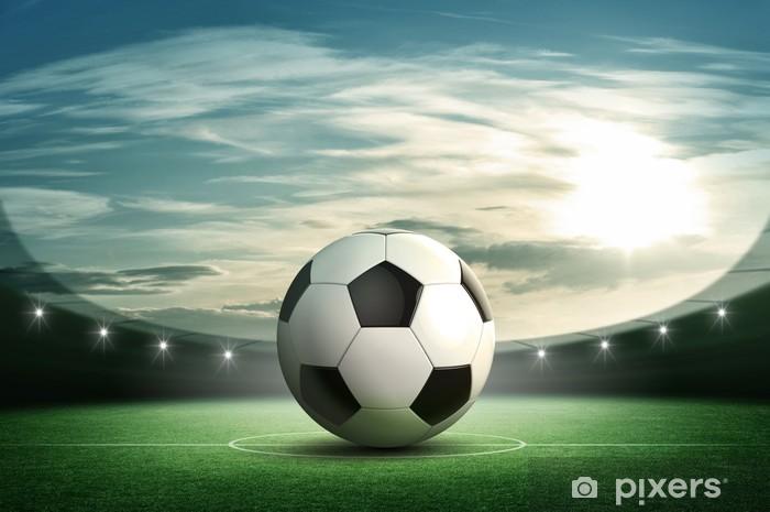Fototapeta winylowa Piłka nożna - Sporty drużynowe