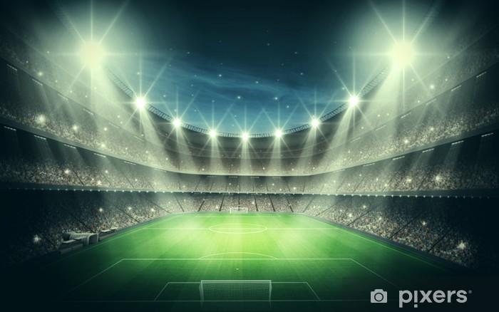 Fotomural Estándar Luz del Estadio - Fútbol Americano