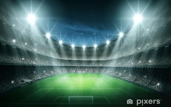 Fotomural Lavable Luz del Estadio - Fútbol Americano