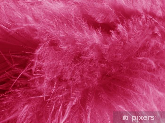 Vinilo Pixerstick Plumas rosas - Estilos