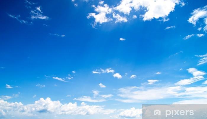 Vinyl-Fototapete Blue sky - Himmel