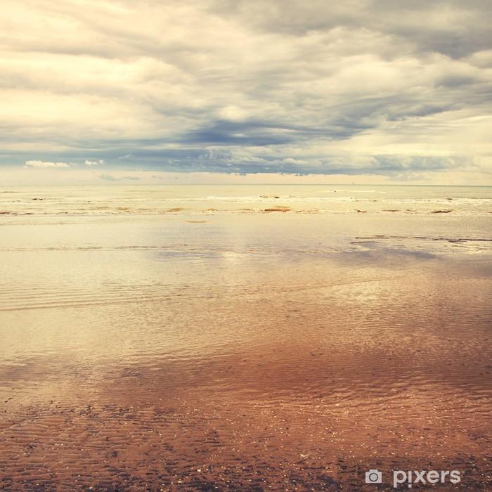 Seascape vintage effekt Vinyl fototapet - Vand