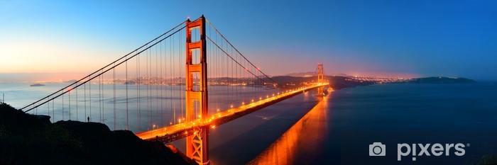 Fototapeta winylowa Most Golden Gate - Tematy