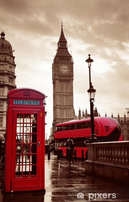 Fototapeta winylowa Street Londyn - Tematy