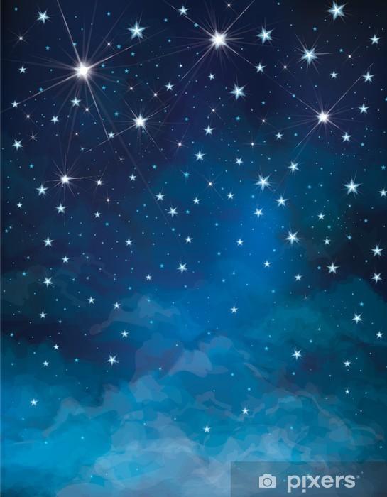 Carta Da Parati Vector Cielo Stellato Sfondo Notturno Pixers