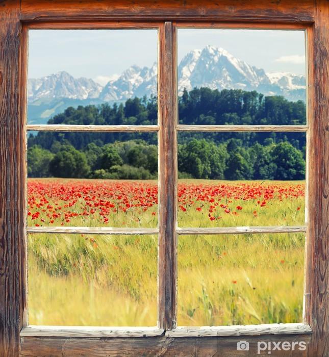 Fensterblick Vinyl Wall Mural - Themes