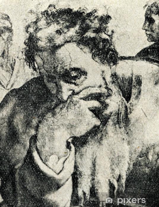 Papier Peint Jeremie Michel Ange Plafond De La Chapelle Sixtine