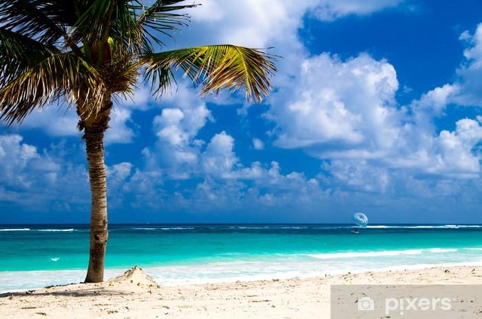 Vinyl-Fototapete Tropischen Meer - Wasser