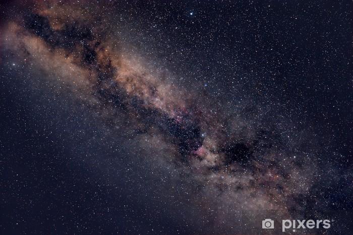 Fototapeta winylowa Gwiaździste niebo noc - Wszechświat
